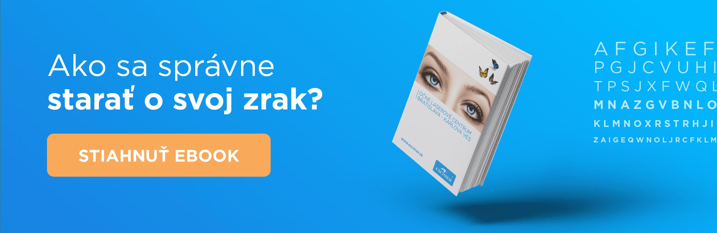 ebook ako sa starať o zrak