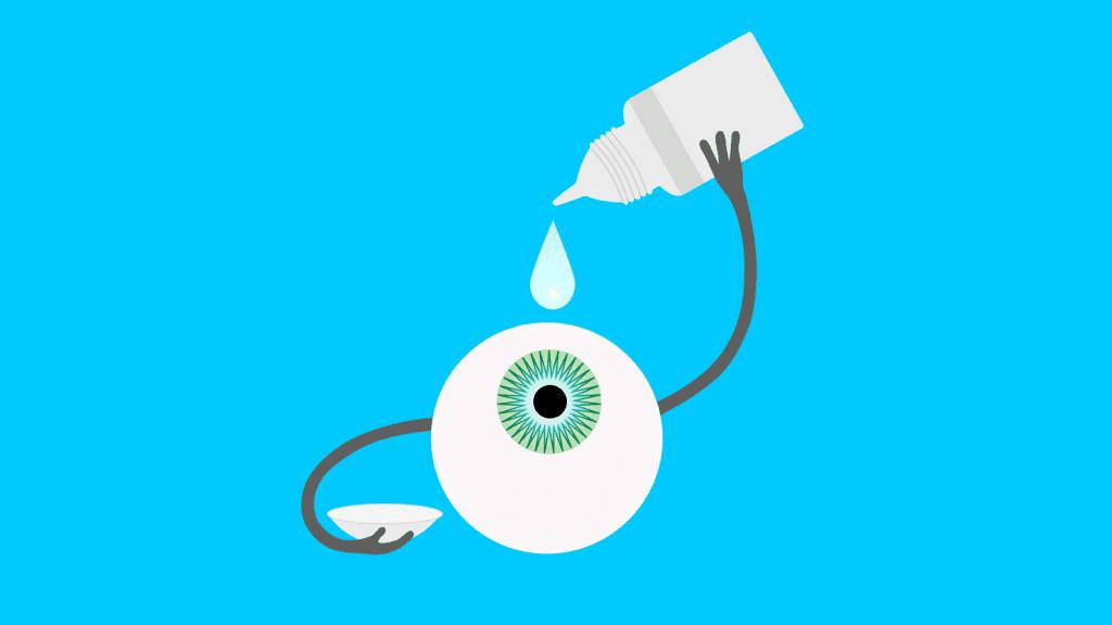 suché oko